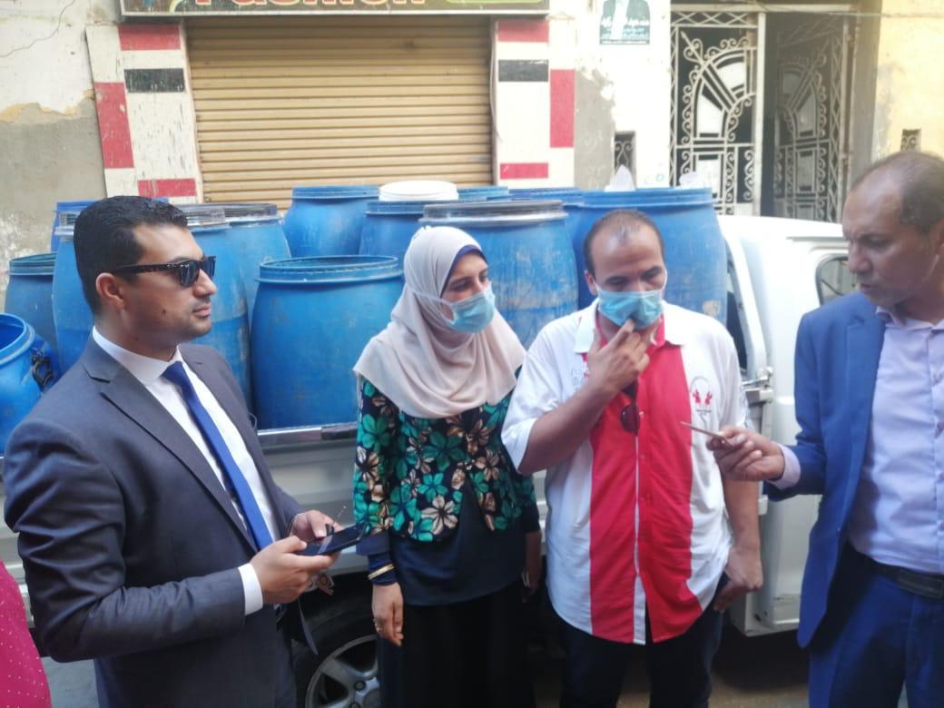 حملات تموينية على الأسواق بكفر الشيخ (6)