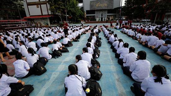 احتجاج طلاب تايلاند