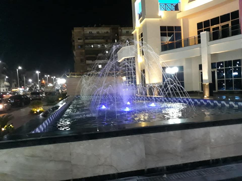 نافورة بازار بورسعيد  الجديد بحي العرب