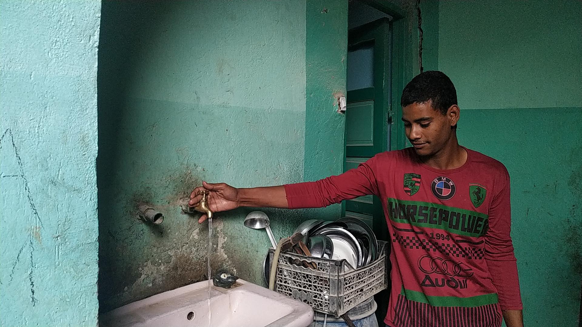 توصيل المياه للقرى المحرومة فى الصعيد