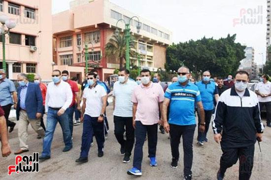 أشرف صبحي يؤكد الحرص على الإجراءات الاحترازية بمهرجانات الدراجات (6)