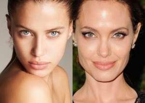انجلينا جولي وصديقة براد بيت فى صورة تظهر مدي الشبه