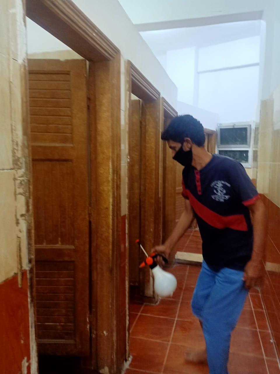 أوقاف الإسكندرية تواصل تعقيم وتطهير المساجد قبل صلاة الجمعة (2)