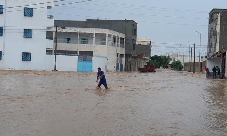 """أمطار غزيرة وسيول تجتاح مدن تونس """"فيديو وصور"""" - اليوم السابع"""