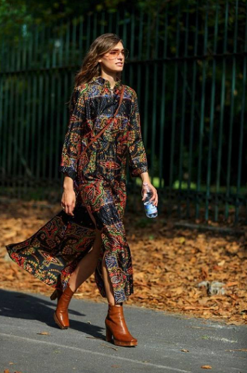 فستان بوهيمي