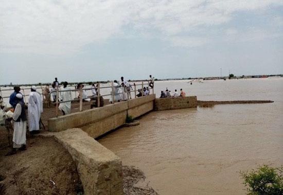 ارتفاع منسوب المياه أدى لحالة الطوارئ