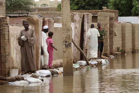 السودان تواجه خطر الفيضان