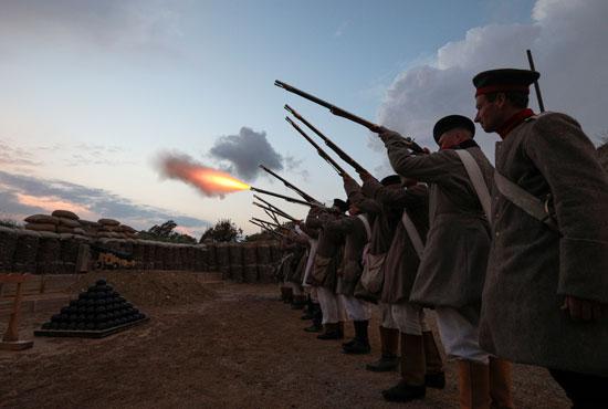 وقعت المعركة فى 8 سبتمبر 1855 أثناء حرب القرم