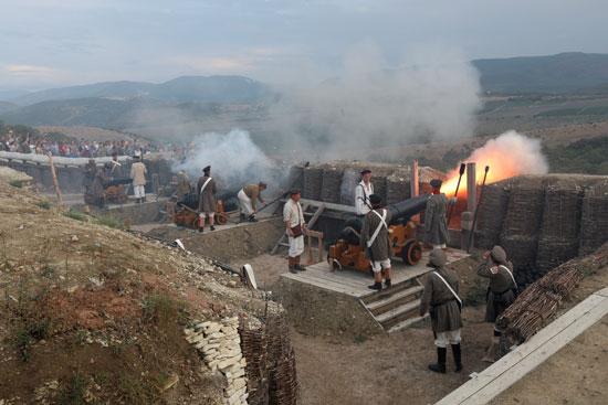 تمثيل الواقعة التاريخية لهجوم حصن سيفاستوبول