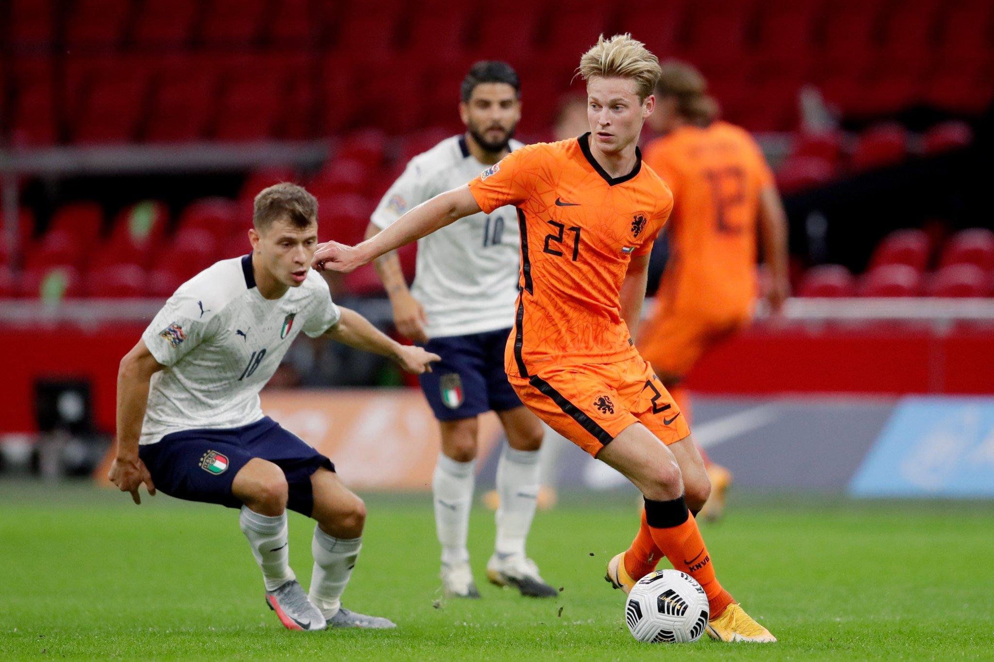 دى يونج لاعب هولندا