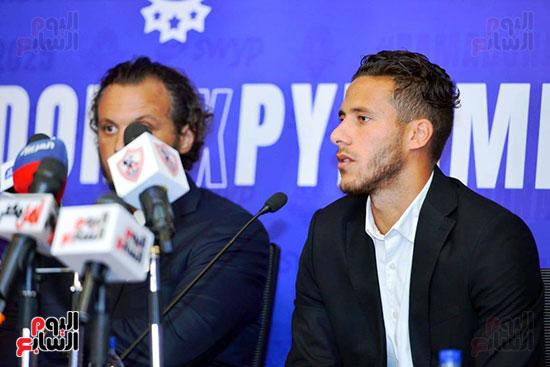 رمضان صبحي لاعب بيراميدز الجديد