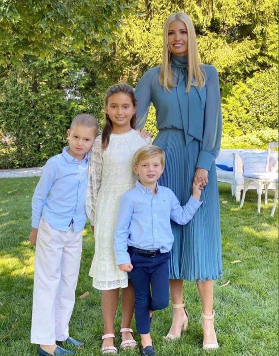 ايفانكا ترامب وأطفالها