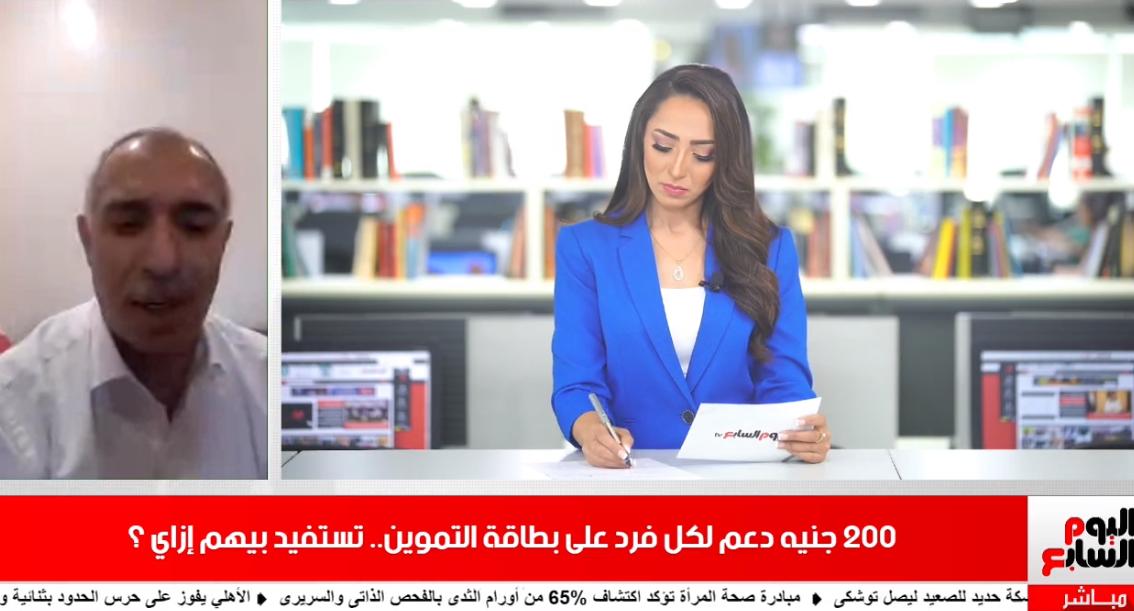 تغطية تلفزيون اليوم السابع حول مبادرة ميغلاش عليك