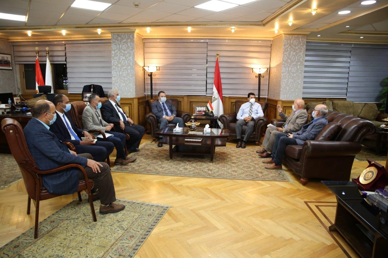 اجتماع الكاراتيه مع وزير الرياضة