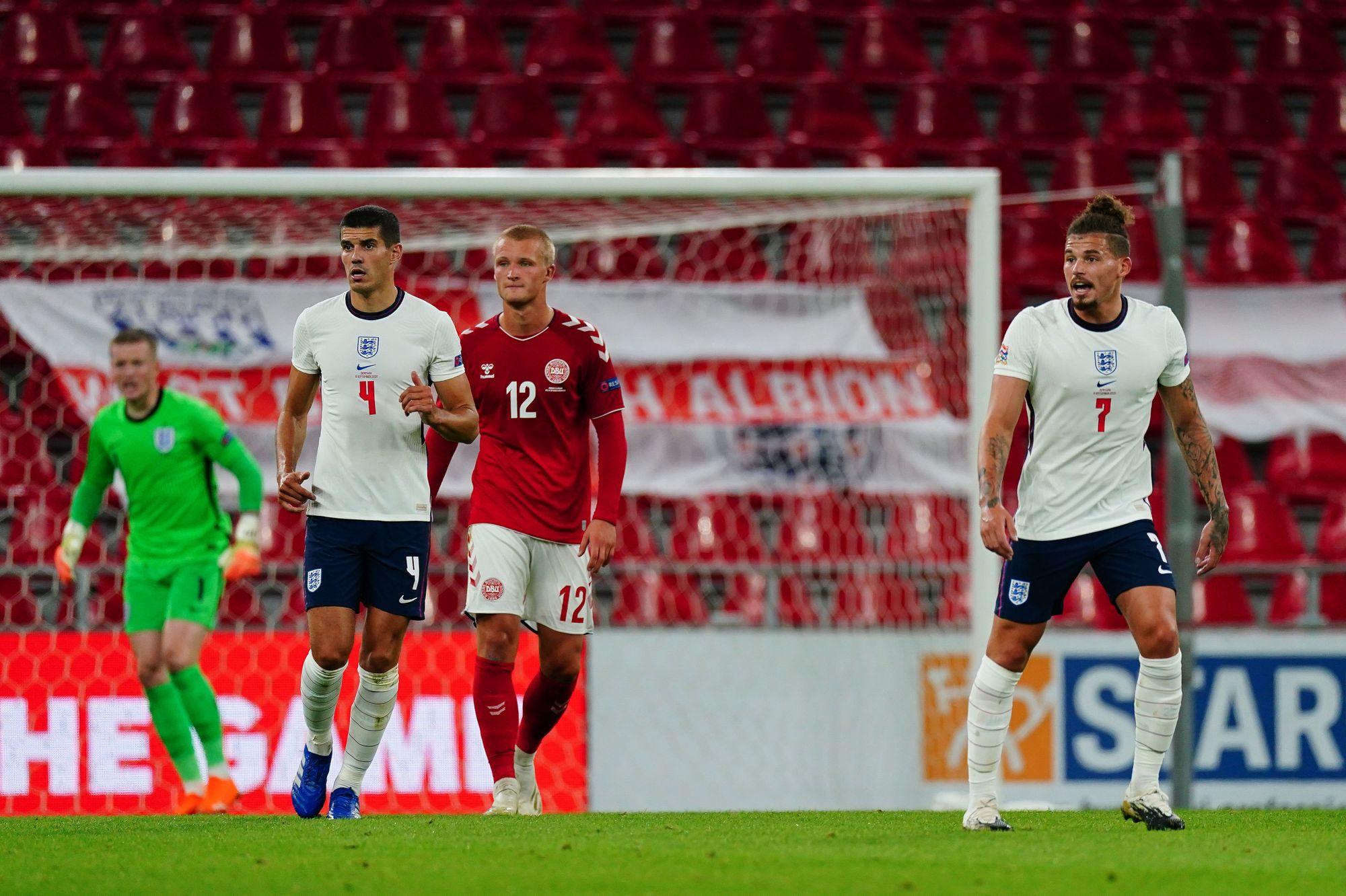 الدنمارك ضد إنجلترا