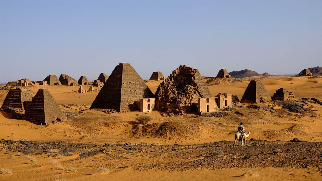 Sudanese-Pyramids