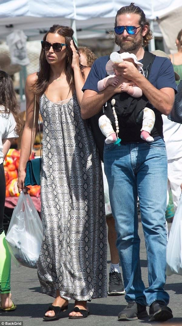 برادلي وابنته وايرينا شايك