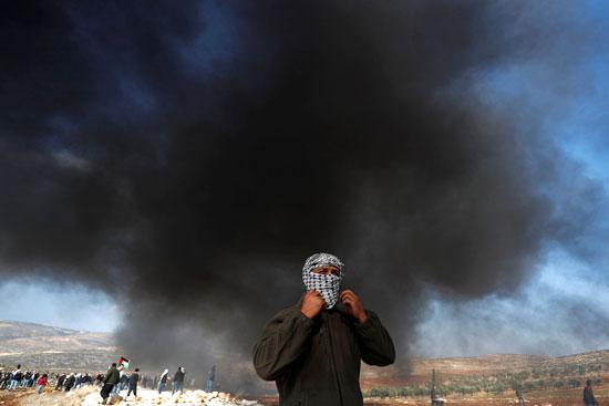 غاز الاحتلال على الفلسطينين