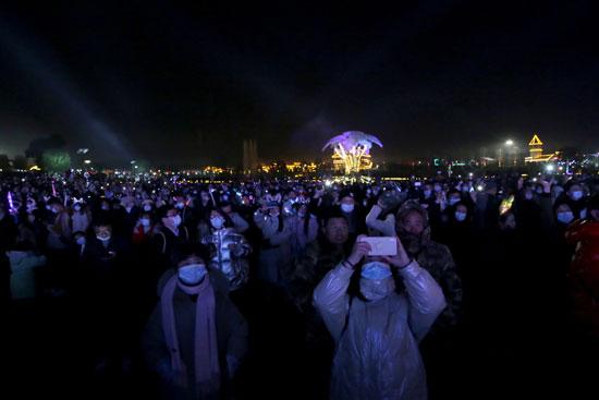 احتفالات العام الجديدة في ووهان الصينية