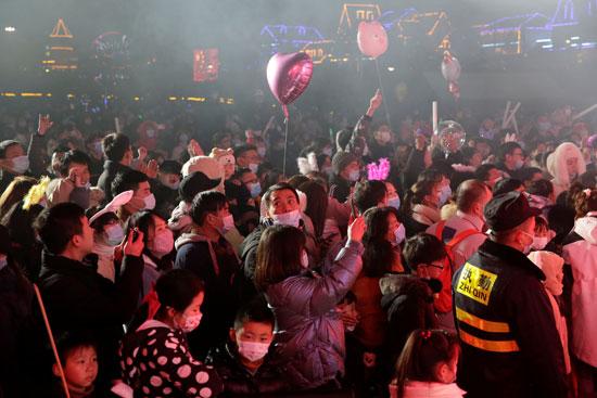 تجمعات في ووهان الصينية