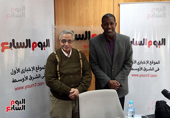 ربيع ياسين يزور اليوم السابع ويجرى لقاء موسعا ويشيد بتجربة التليفزيون (29)