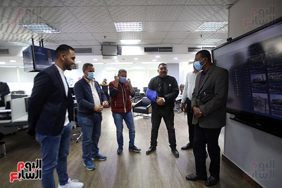 ربيع ياسين يزور اليوم السابع ويجرى لقاء موسعا ويشيد بتجربة التليفزيون (1)
