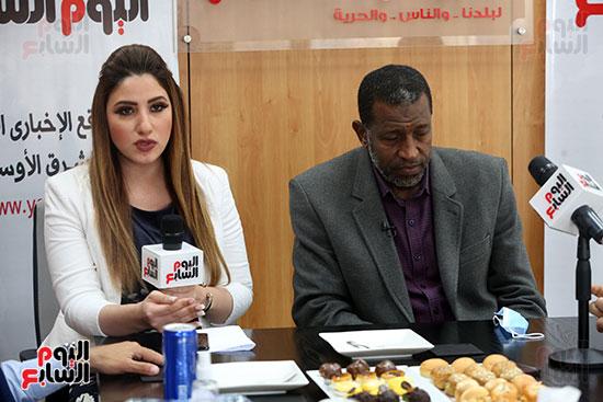 ربيع ياسين يزور اليوم السابع ويجرى لقاء موسعا ويشيد بتجربة التليفزيون (27)