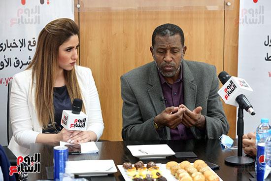 ربيع ياسين يزور اليوم السابع ويجرى لقاء موسعا ويشيد بتجربة التليفزيون (28)
