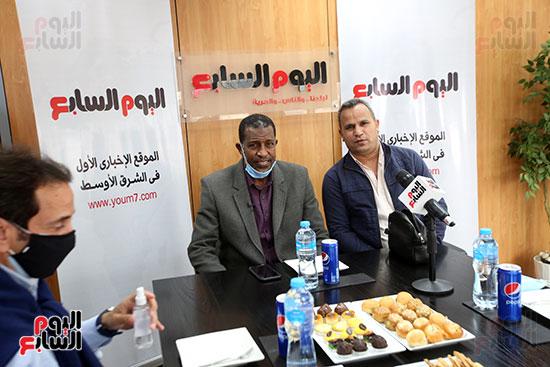ربيع ياسين يزور اليوم السابع ويجرى لقاء موسعا ويشيد بتجربة التليفزيون (10)