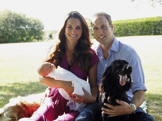 كيت بعد ميلاد الأمير جورج
