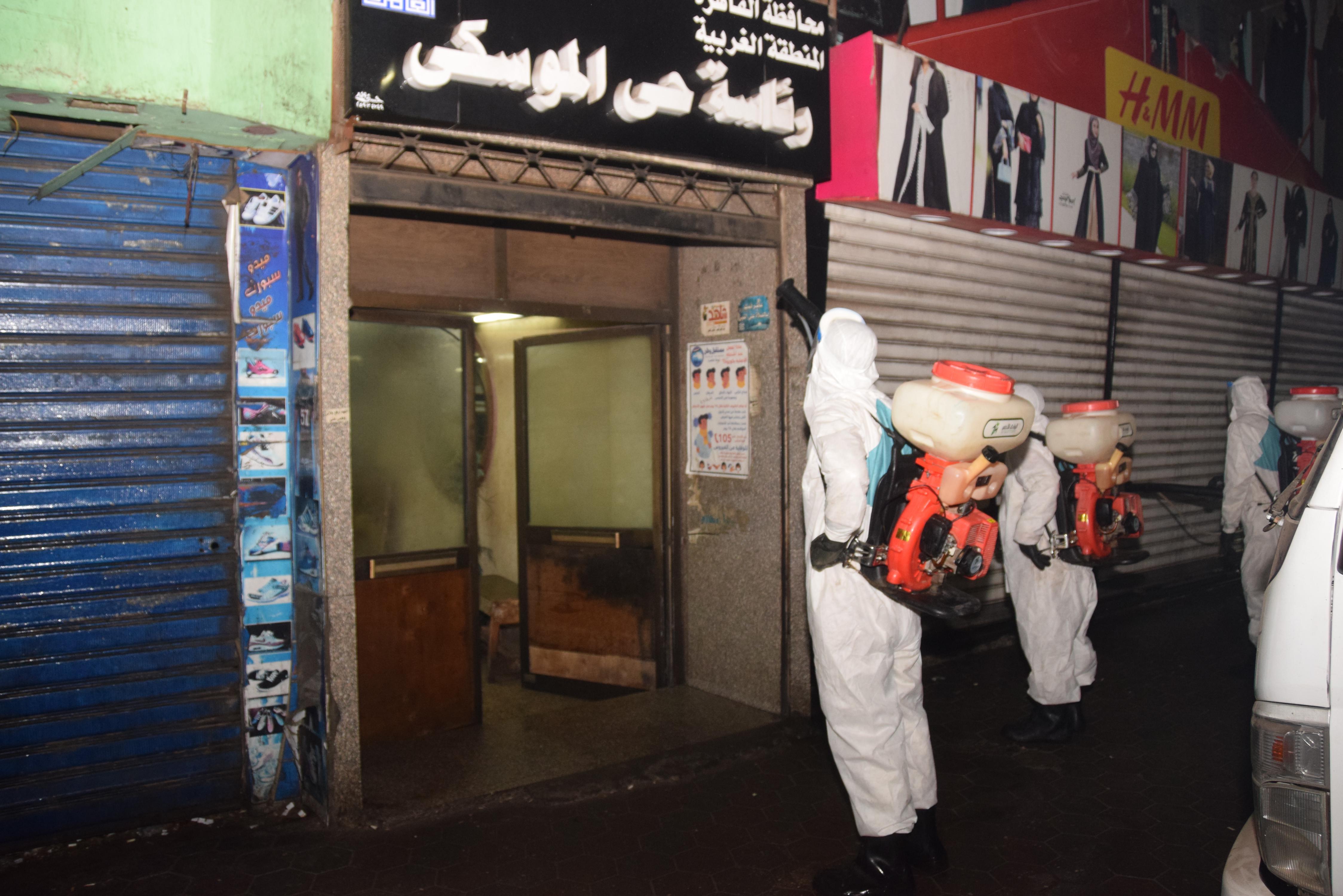 القوات المسلحة تواصل عمليات التطهير والتعقيم