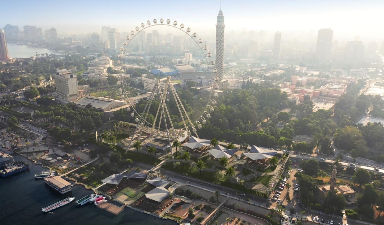 مشروع عين القاهرة Cairo Eye  (2)