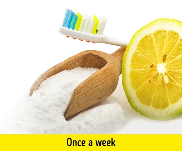 صودا الخبز وعصير الليمون