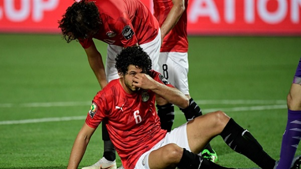 أحمد حجازي مع منتخب مصر
