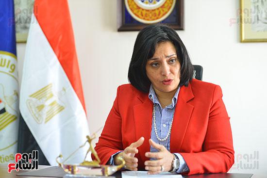 غادة شلبي، نائب وزير السياحة والآثار لشئون السياحة (5)