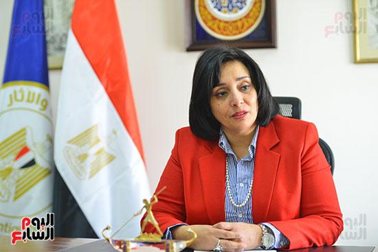 غادة شلبي، نائب وزير السياحة والآثار لشئون السياحة (4)