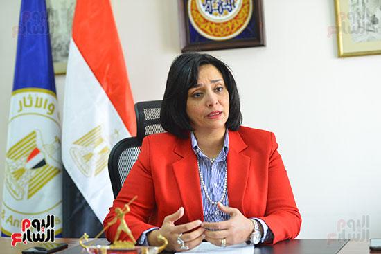 غادة شلبي، نائب وزير السياحة والآثار لشئون السياحة (2)