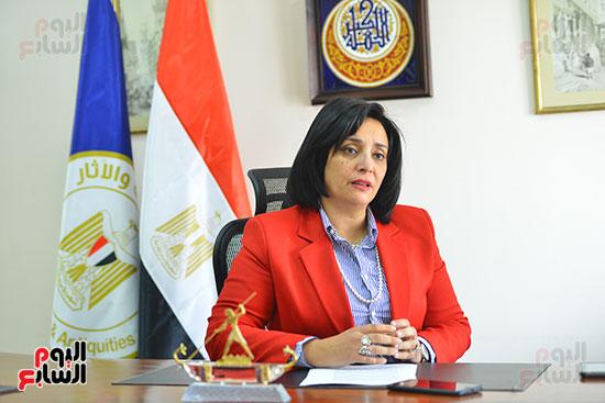 غادة شلبي، نائب وزير السياحة والآثار لشئون السياحة (3)