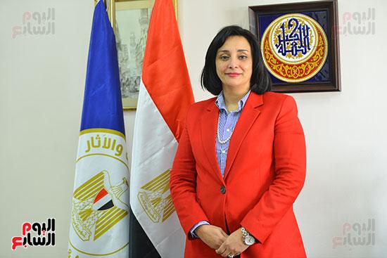 غادة شلبي، نائب وزير السياحة والآثار لشئون السياحة (7)
