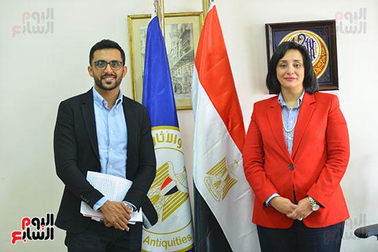 غادة شلبي، نائب وزير السياحة والآثار لشئون السياحة (1)