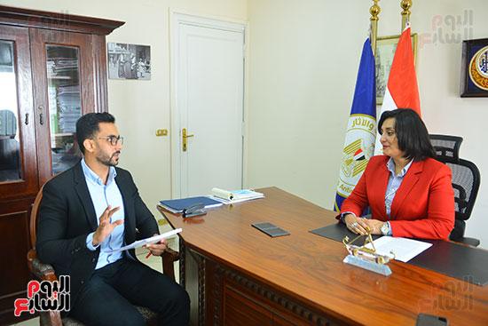 غادة شلبي، نائب وزير السياحة والآثار لشئون السياحة (6)