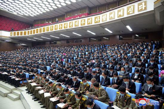 حضور واسع من أعضاء حزب العمال فى كوريا الشمالية