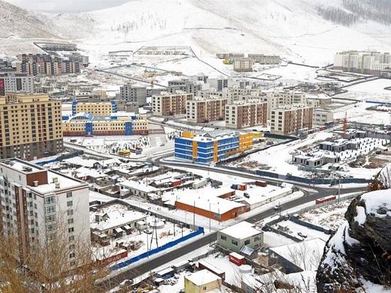 أولان باتور عاصمة منغوليا تصل للبرودة في يناير