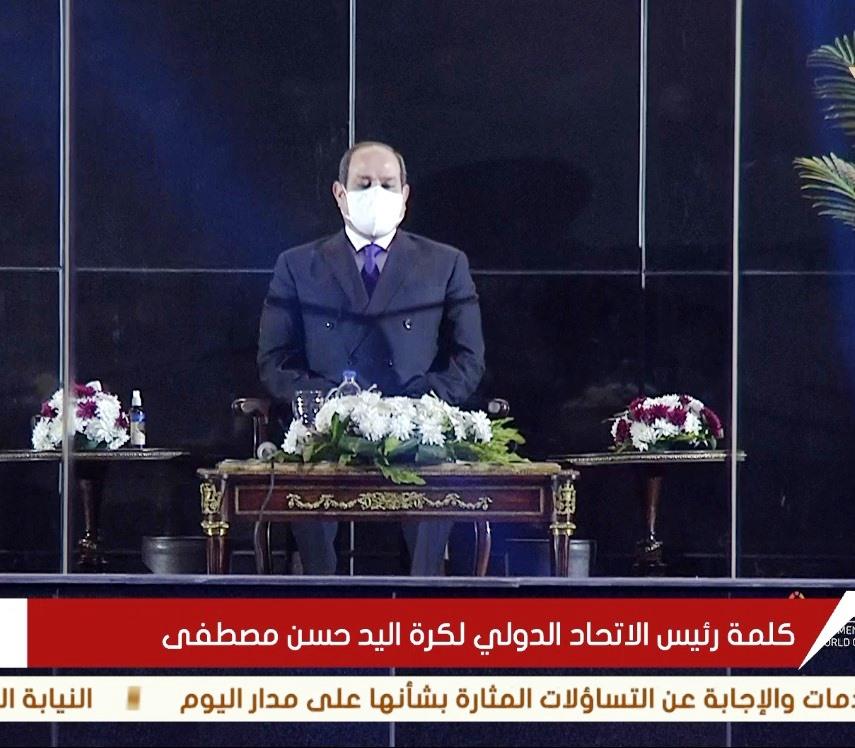 President al-Sisi opens World Cup in handball (3)
