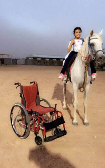 رياضة ركوب الخيل للمعاقين (1)
