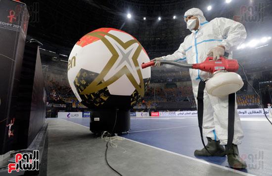 الإجراءات الاحترازية تسيطر على أجواء افتتاح بطولة كأس العالم لكرة اليد