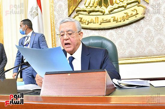 المستشار حنفى جبالى رئيس مجلس النواب 2021