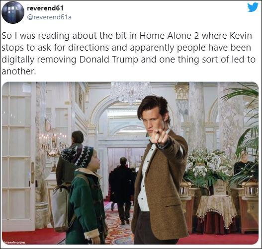 مطالب على السوشيال ميديا بحذف مشهد ترامب في فيلم Home Alone 2 (3)
