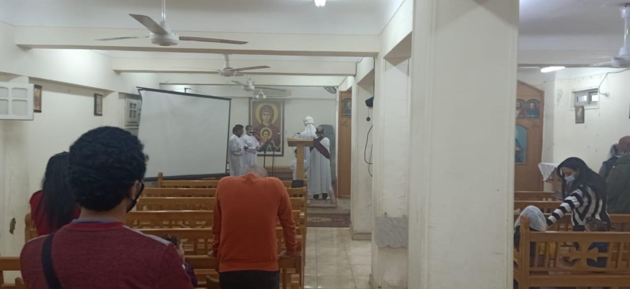 الكنيسة الكاثوليكية بالغردقة تحتفل بعيد الختان  (3)