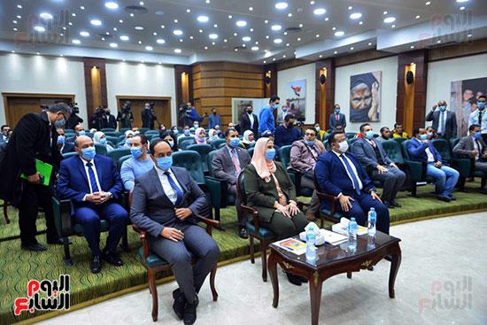 نيفين القباج وزيرة التضامن الاجتماعى (18)
